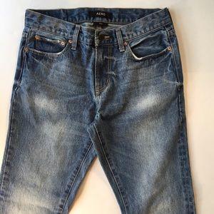 Aero Jeans Men's Slim Distressed EUC 30/32